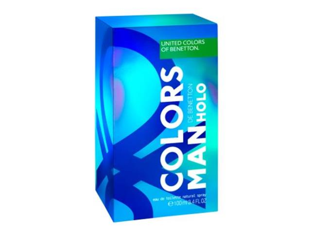 Perfume Benetton Colors Holo Masculino Eau de Toilette 100ML - 2