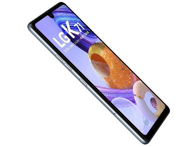 """Smartphone LG K71 Branco 128GB, Tela de 6.8"""", Câmera Traseira Tripla, Android 10, Inteligência Artificial e Processador Octa-Core - 5"""