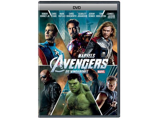 DVD Os Vingadores