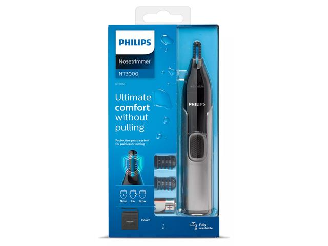 Aparador de Pelos Philips NT3650/16 Nariz Orelhas e Sobrancelhas - 7