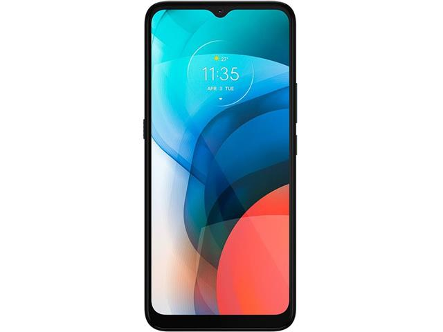 """Smartphone Motorola Moto E7 32GB Duos Tela 6.5"""" 4G Câm 48+2MP Cinza - 1"""