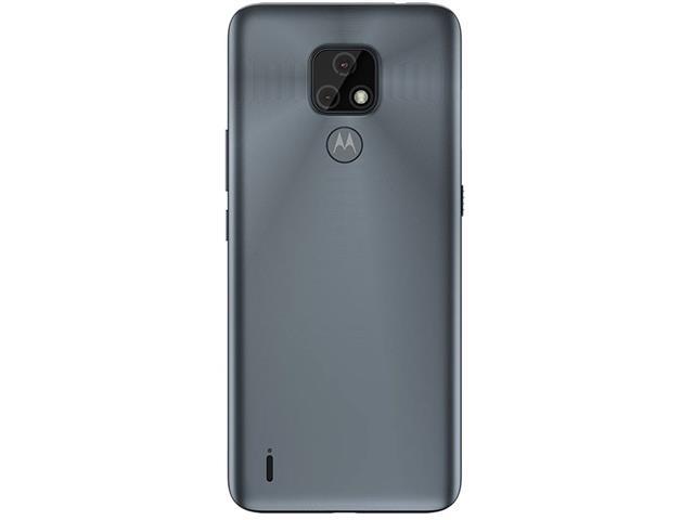 """Smartphone Motorola Moto E7 32GB Duos Tela 6.5"""" 4G Câm 48+2MP Cinza - 5"""