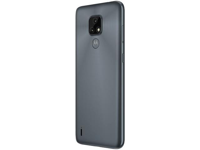 """Smartphone Motorola Moto E7 64GB Duos Tela 6.5"""" 4G Câm 48+2MP Cinza - 7"""