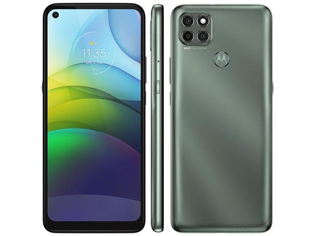 "Smartphone Motorola Moto G9 Power 128GB Duos 6.8""4G Câm 64+2+2MP Verde - 1"