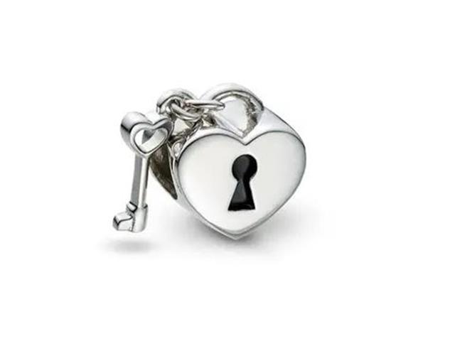 Berloque Vivara Coração com Chave