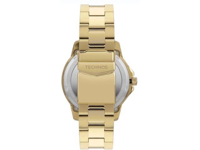 Relógio Technos Masculino Elegant Analógico Dourado F06111AA/4M - 1