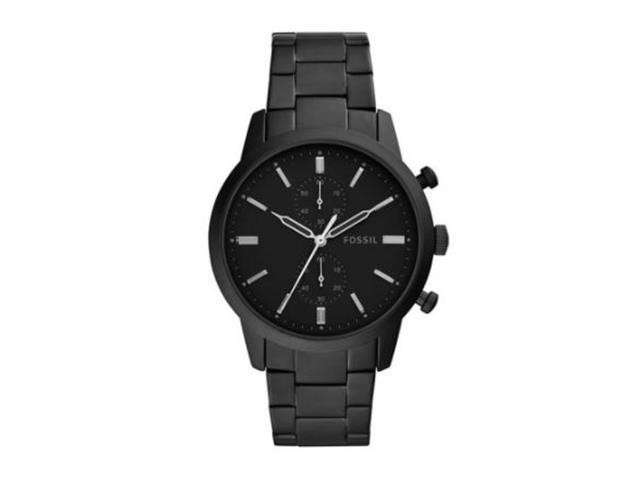 Relógio Fossil Townsman Masculino Preto FS5502/1PN