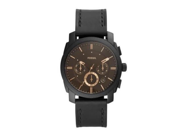 Relógio Fossil Masculino Machine All Black FS5586/0PN