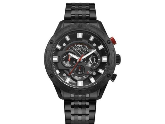 Relógio Technos Masculino Carbon Preto JS25CL/4P