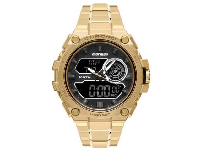 Relógio Mormaii On The Road Dourado MOZD1161/1D