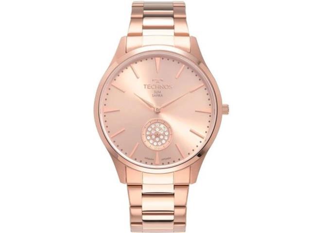 Relógio Technos Feminino Rosé VD78AC/4T