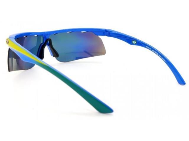 Óculos de Sol Mormaii Athlon 2 Azul e Verde - 3