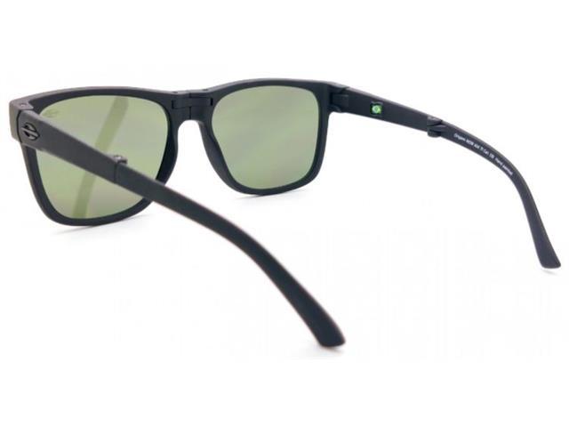 Óculos de Sol Mormaii Origami Dobrável Preto Fosco - 2