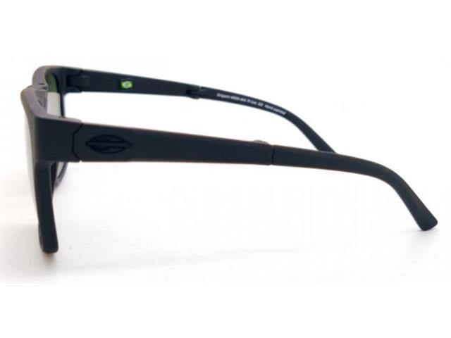 Óculos de Sol Mormaii Origami Dobrável Preto Fosco - 4