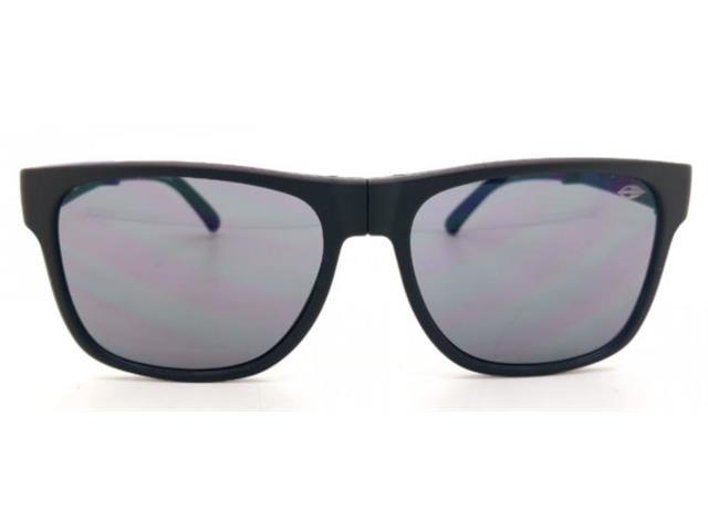 Óculos de Sol Mormaii Origami Dobrável Preto Fosco e Azul - 4