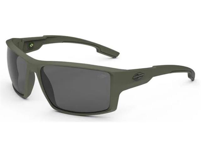 Óculos de Sol Mormaii Joaca 4 Verde Militar Fosco Lente Cinza
