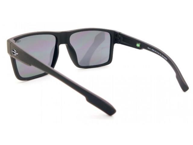 Óculos de Sol Mormaii Macau Preto Fosco Lente Cinza - 1