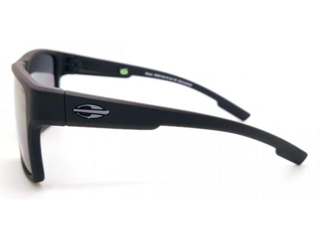 Óculos de Sol Mormaii Macau Preto Fosco Lente Cinza - 2