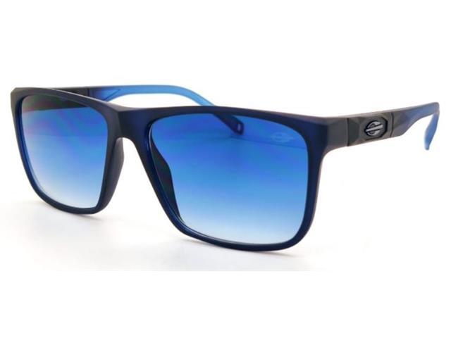 Óculos de Sol Mormaii Tokyo Azul Escuro Degradê Azul Claro Fosco
