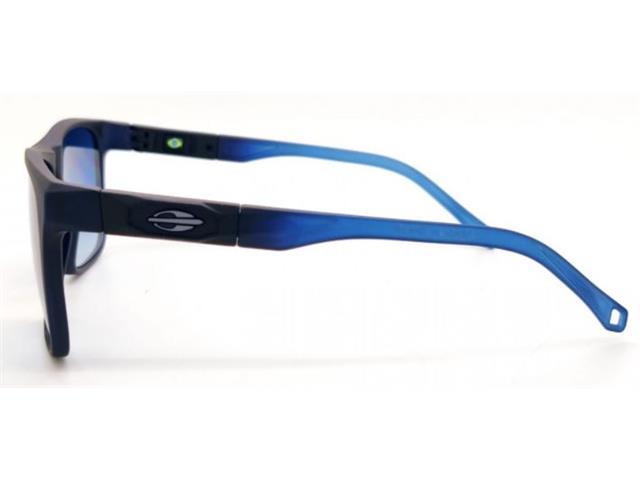 Óculos de Sol Mormaii Tokyo Azul Escuro Degradê Azul Claro Fosco - 3