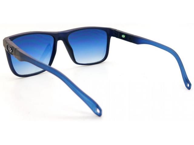 Óculos de Sol Mormaii Tokyo Azul Escuro Degradê Azul Claro Fosco - 1