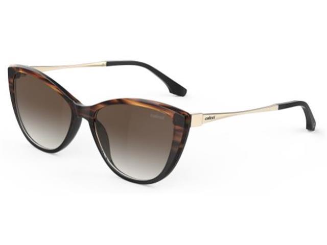 Óculos de Sol Colcci Agatha Solar Preto e Dourado