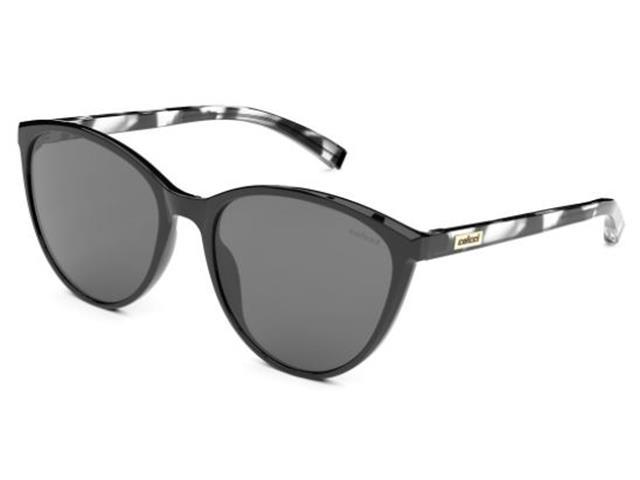 Óculos de Sol Colcci Kim Solar Preto com Demi Leitoso Lente Cinza