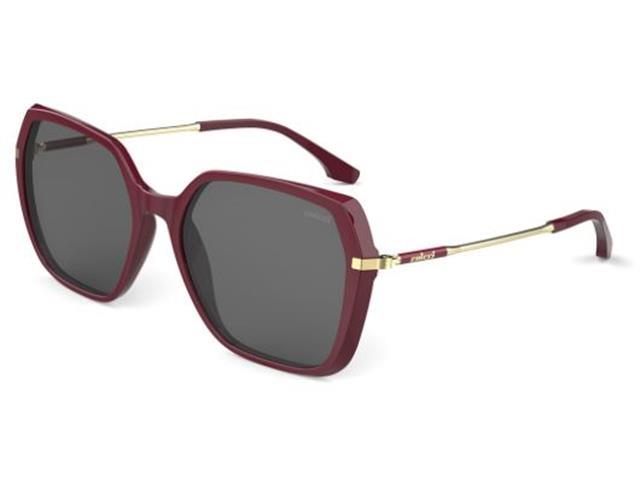 Óculos de Sol Colcci Stela Bordô Lente Cinza