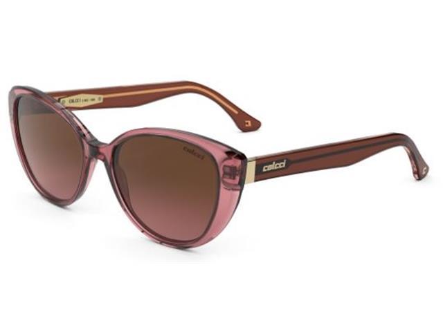 Óculos de Sol Colcci Lara Rosa Lente Marrom Degradê