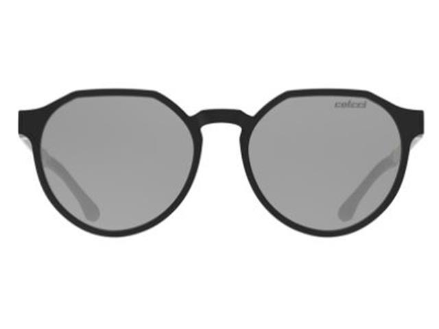 Óculos de Sol Colcci Noa Preto Lente Cinza Espelhado Prata - 1