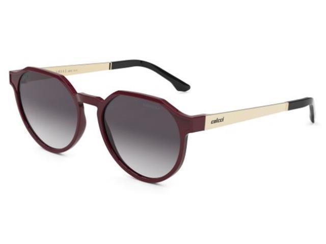 Óculos de Sol Colcci Noa Bordô Lente Cinza Degradê