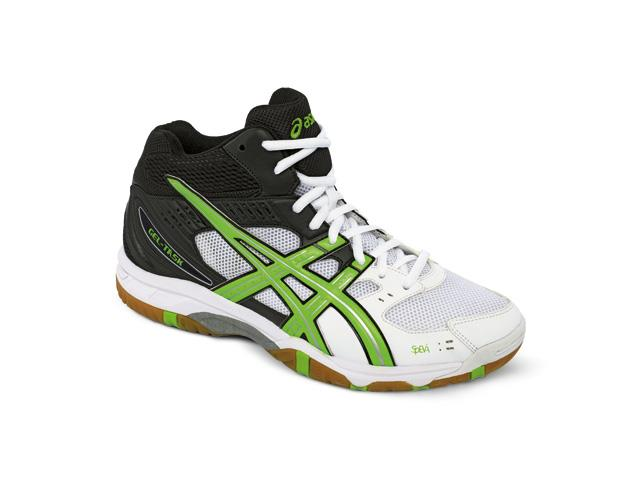Tênis Asics Gel Task Mt White/Neon Green/Black Masc
