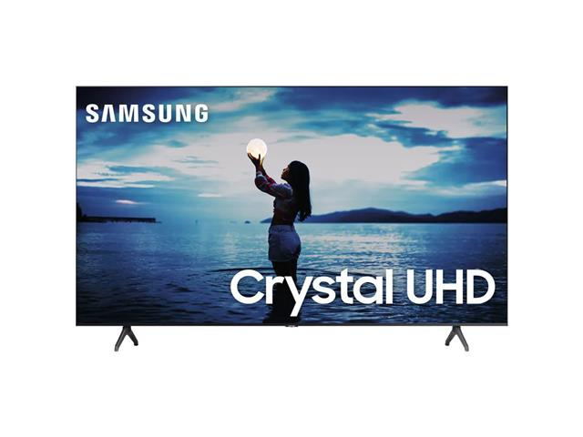 "Smart TV LED 65"" Samsung Tizen Crystal UHD 4K HDR10+ 2 HDMI 1USB Wi-Fi"