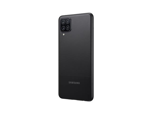 """Smartphone Samsung Galaxy A12 Preto 64GB, Tela Infinita de 6.5"""", Câmera Quádrupla, Bateria 5000mAh, 4GB RAM e Processador Octa-Core - 5"""