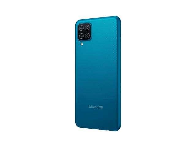 """Smartphone Samsung Galaxy A12 Azul 64GB, Tela Infinita de 6.5"""", Câmera Quádrupla, Bateria 5000mAh, 4GB RAM e Processador Octa-Core - 4"""