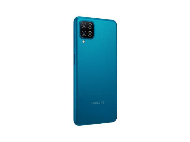 """Smartphone Samsung Galaxy A12 Azul 64GB, Tela Infinita de 6.5"""", Câmera Quádrupla, Bateria 5000mAh, 4GB RAM e Processador Octa-Core - 5"""