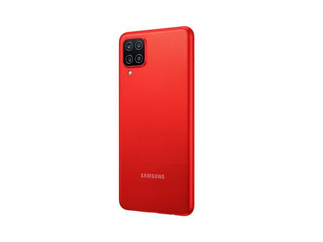 """Smartphone Samsung Galaxy A12 Vermelho 64GB, Tela Infinita de 6.5"""", Câmera Quádrupla, Bateria 5000mAh, 4GB RAM e Processador Octa-Core - 4"""