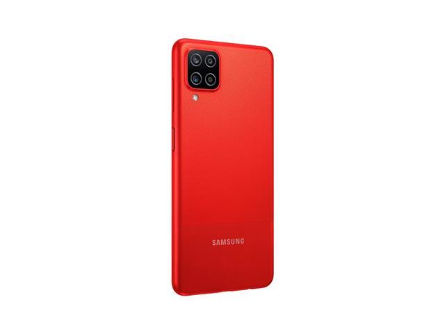 """Smartphone Samsung Galaxy A12 Vermelho 64GB, Tela Infinita de 6.5"""", Câmera Quádrupla, Bateria 5000mAh, 4GB RAM e Processador Octa-Core - 5"""