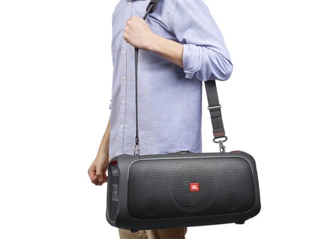 Caixa de Som JBL Partybox On-The-Go com Bluetooth, Luzes e Microfone sem Fio - 100W - 7