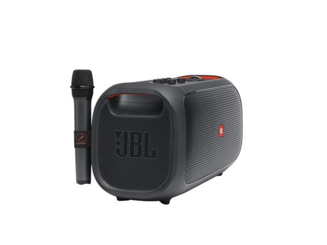 Caixa de Som JBL Partybox On-The-Go com Bluetooth, Luzes e Microfone sem Fio - 100W - 4