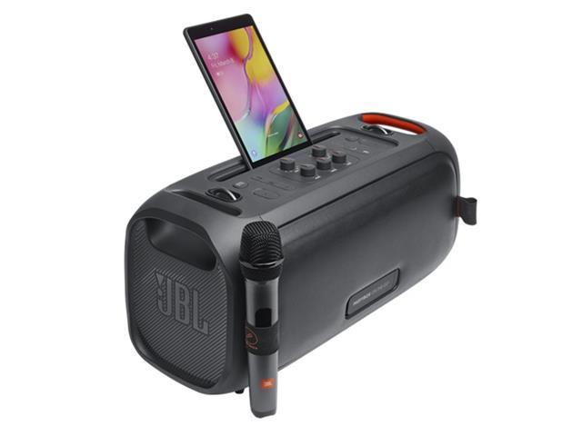 Caixa de Som JBL Partybox On-The-Go com Bluetooth, Luzes e Microfone sem Fio - 100W - 1