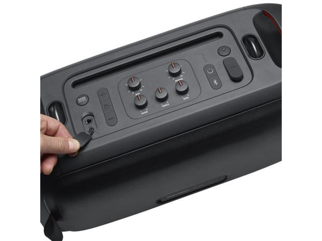 Caixa de Som JBL Partybox On-The-Go com Bluetooth, Luzes e Microfone sem Fio - 100W - 5