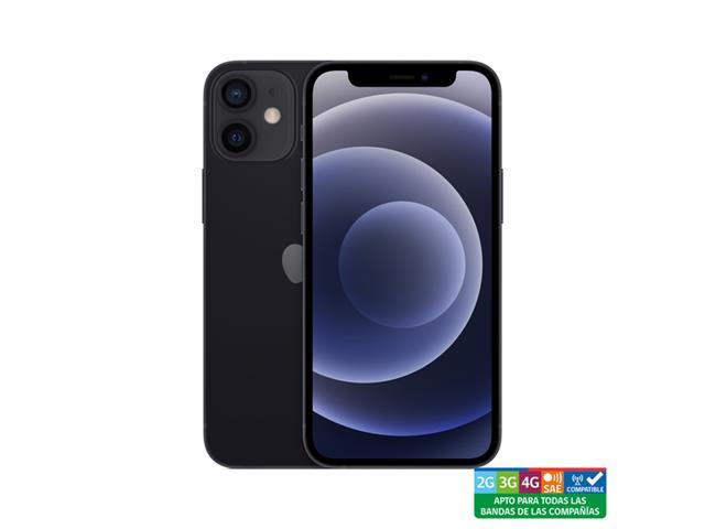iPhone 12 mini, 64GB negro