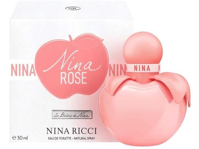 Perfume Nina Ricci Nina Rose Eau de Toilette Feminino 30ML