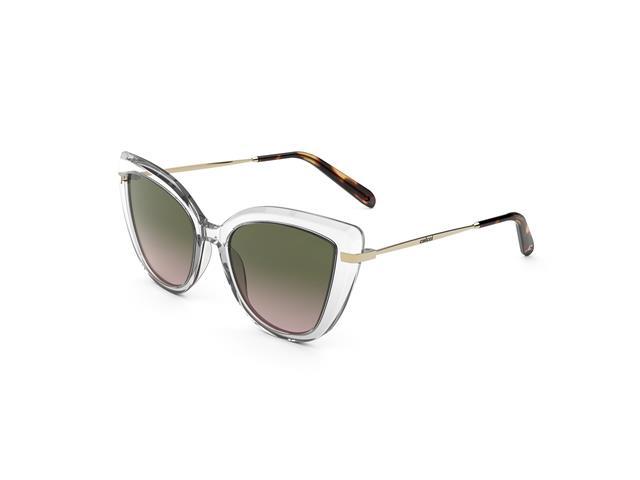 Óculos de Sol Colcci Manu Transparente Brilho/L Verde Degradê Rosa