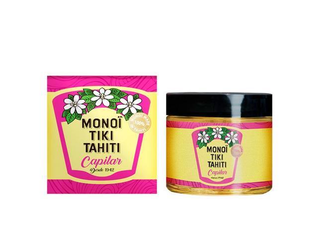Monoi Tiki Tahiti Aceite Tratamiento Capilar Vidrio