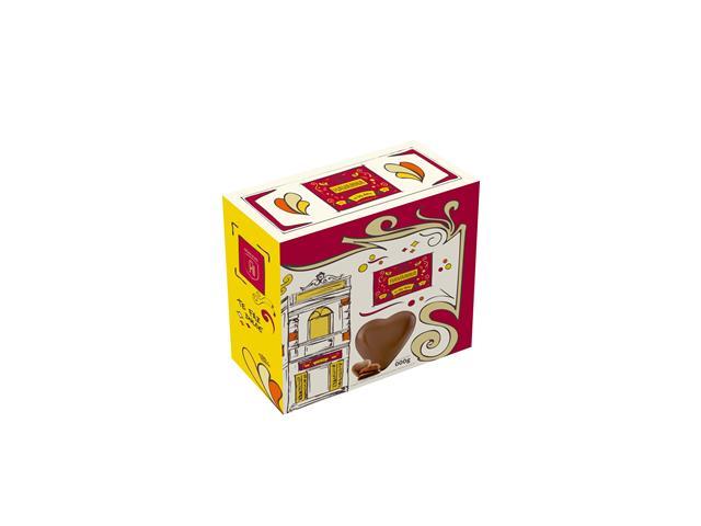 Max Corazon Havanna Chocolate Recheado de Doce de Leite 250G - 2