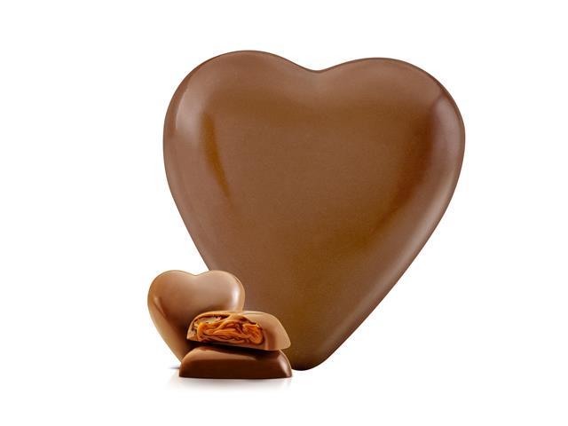 Max Corazon Havanna Chocolate Recheado de Doce de Leite 250G - 1