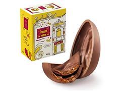 Combo 2 Ovos de Páscoa Havanna Chocolate ao Leite e Doce de Leite 400G - 1