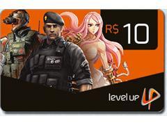 Cartão Presente Level Up - R$10,00